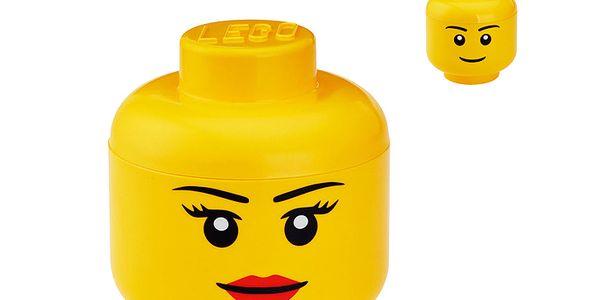 LEGO úložný box hlava velká (více druhů)
