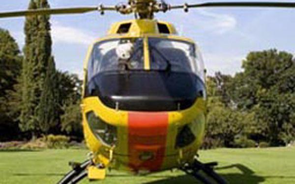 Adrenalinový let vrtulníkem. Vyzkoušíte co všechno umí vrtulník.