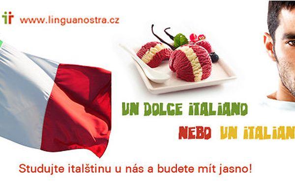 Italština pro začátečníky na 15 týdnů