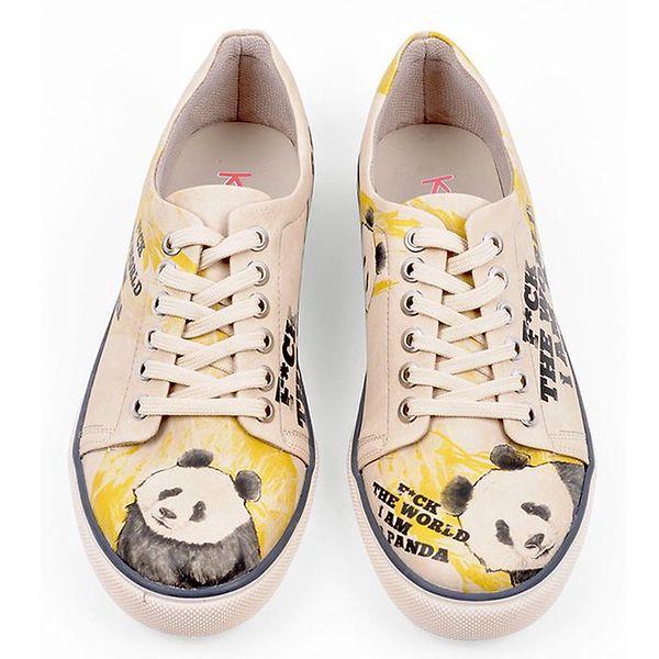 Dámské tenisky s potiskem pandy Dogo