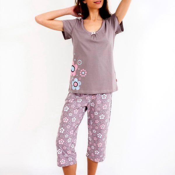 Pohodlné pyžamo Flowers