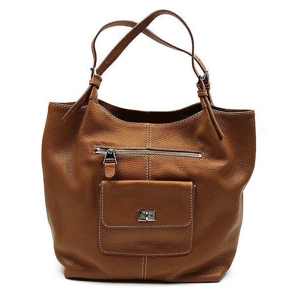 Dámská hnědá prostorná taška Acosta