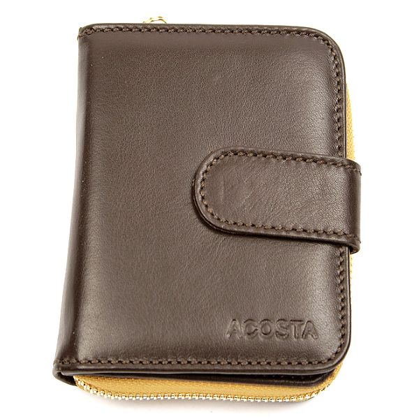 Dámská malá hnědá peněženka Acosta