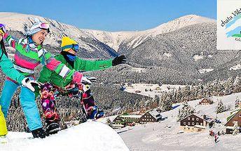 Čtyři dny v horské chatě v Peci pod Sněžkou