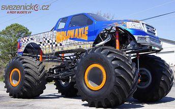 Adrenalinová jízda v Monster Trucku
