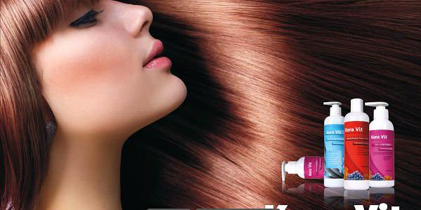 Brazilský keratin Kera Vit - 50 ml - přírodní regenerace pro Vaše vlasy!