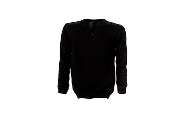 Nadčasový černý svetr
