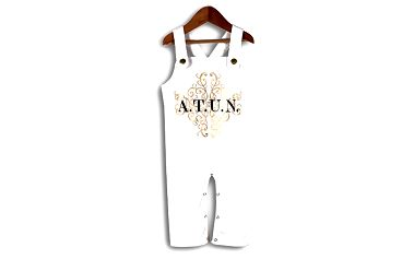 Bílé lacláče pro miminka od značky A.T.U.N.
