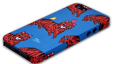 Parádní pouzdro na iPhone 5/5s Tiger od India Circus