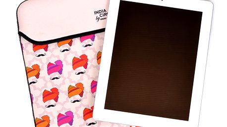 Úžasný obal na iPad / tablet Hipster