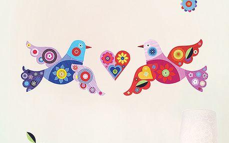 Tapety - ptáčci (30 x 90 cm)