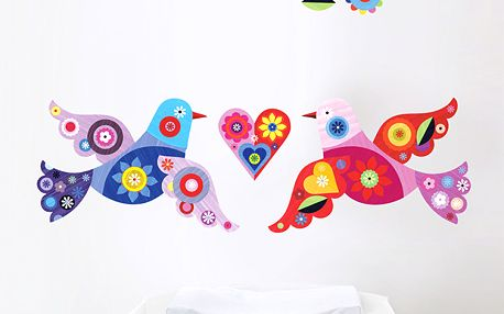 Tapety - ptáčci (41 x 126 cm)