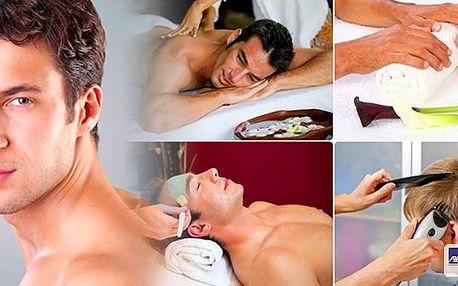 I pánové si musí dopřát relax a péči! Luxusní péče pro gentlemany - 2,5 hod luxusní péče pánská manikúra, kosmetická péče, masáž zad a šíje a na závěr úprava střihu s finální úpravou! To vše v Relax clubu u metra Hradčanská!