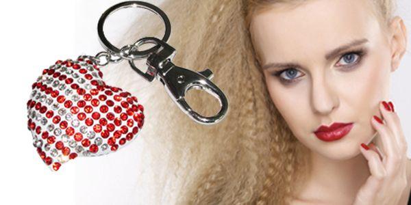 Přívěšek na klíče ve tvaru srdce