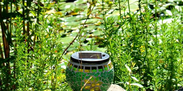 Mozaikové solární světlo Vás přenese do pohodové večerní nálady!