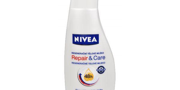 Nivea Regenerační tělové mléko (Repair & Care) 400 ml