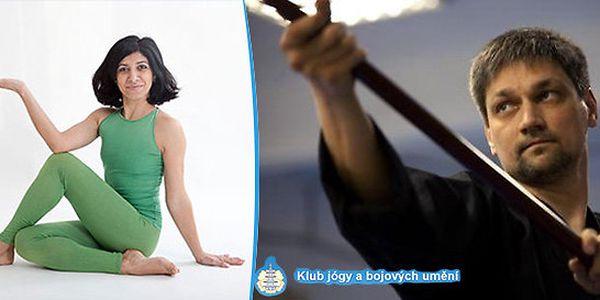 2měsíční kurz Hatha jógy nebo Zen jógy! Energie i zdraví