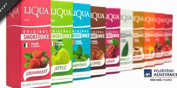 Sada3ks e-liquid 30ml k elektronickým cigaretám od originálního výrobce LIQUA! Na výběr z 5 příchutí! Dopřejte si kvalitu za nízkou cenu