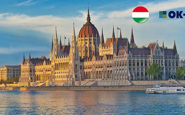 3 nebo 4 dny v Budapešti, oblíbený hotel Sissi***