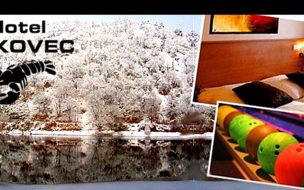 Dopřejte si relax v překrásném prostředí Brněnské přehrady! Za 3-denní pobyt pro 2 osoby se snídaní, bohatou večeří, bowlingem i koupáním, dáte jen 2.358 Kč!