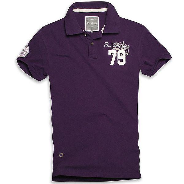 Pánské fialové námořnické triko Paul Stragas