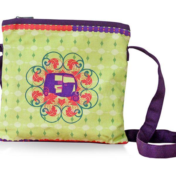 Originální kabelka přes rameno Flower plná lehkosti a kouzla