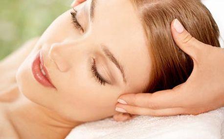 60 minutová thajská kosmetická masáž obličeje, hla...