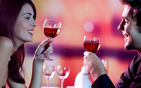 Valentýnské 5ti chodové menu nejen pro 2 zamilované za skvělých 690 Kč!