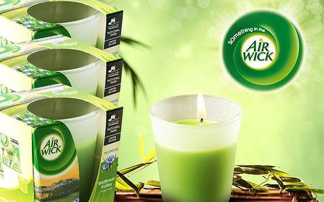 4 vonné svíčky Airwick na romantické večery