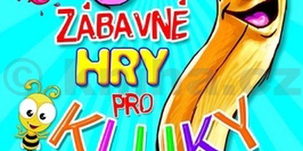 Zábavné hry pro kluky se samolepkami