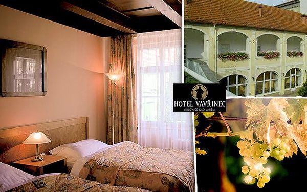 3denní pobyt v hotelu Vavřinec pro dva s degustací vína