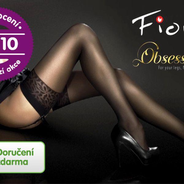 Samodržící punčochy Fiore – 3 páry