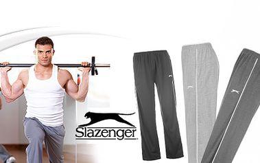 Pánské značkové tepláky SLAZENGER ve 4 barvách za 189 Kč! I tepláky mohou být stylové! Buďte in ve fitku i ve svém volném čase se značkovým oblečením za hubičku!