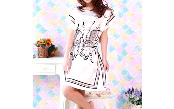 Pohodlná dámská košilka s motýlím motivem a poštovné ZDARMA! - 9007874