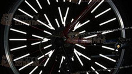 12 ks reflexních trubiček na výplet kola a poštovné ZDARMA! - 15407905