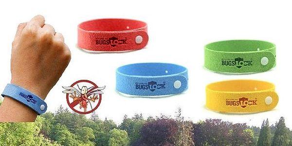 LEN 6 EUR za 12 kusov repelentný náramkov Bugs Lock s výberom farieb vrátane poštovného a balného v cene poukazu!