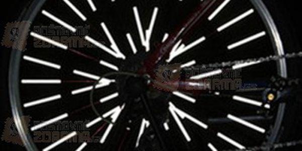 12 ks reflexních trubiček na výplet kola a poštovné ZDARMA! - 13607905