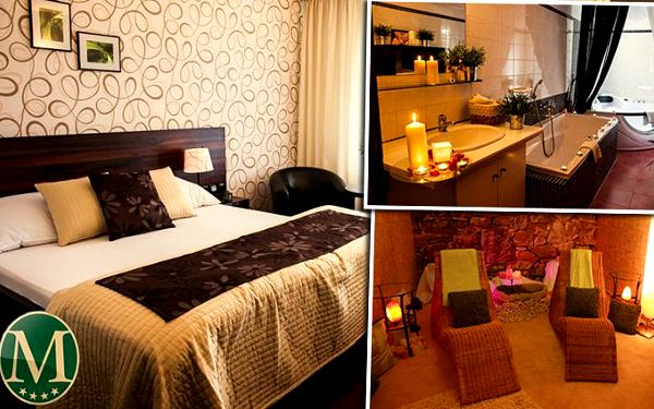 Luxusní wellness dovolená v hotelu Morris**** Nový Bor pro 2