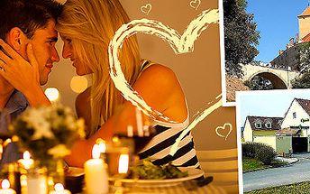 Valentýnská noc u hradu Veveří pro dva