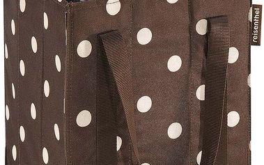 Bottlebag mocha dots