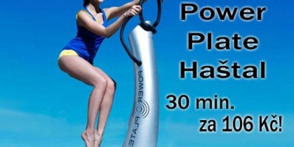 30 min. cvičení na POWERPLATE S TRENÉREM ve známém studiu Power Plate Haštal! Fantasticky účinné cvičení pod dohledem zkušeného odborníka pro nejrychlejší hubnutí!