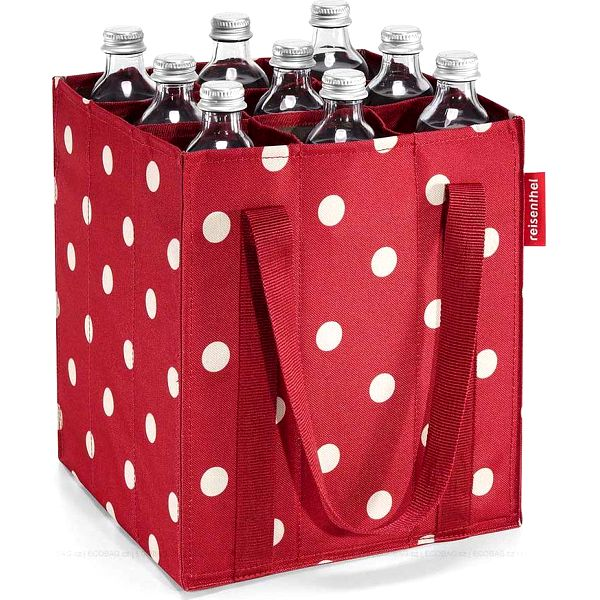Bottlebag ruby dots