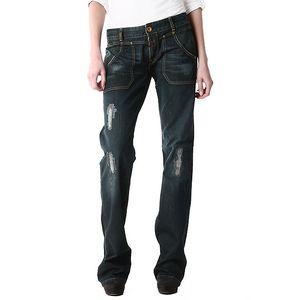 Dámské volné džíny s oděrkami Replay