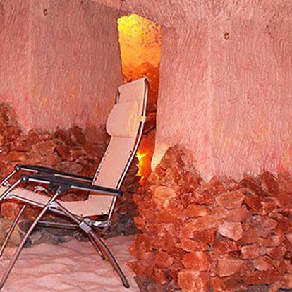 50minutová procedura v solné jeskyni