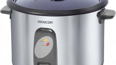 Speciální hrnec pro vaření rýže! Rýžovar Sencor SRM 1800 SS.