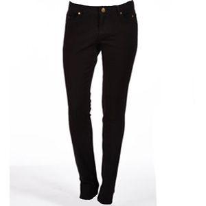 Dámské straight-leg černé džíny Ruby London