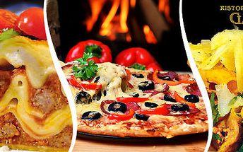 Dvě porce italských specialit dle vašeho gusta