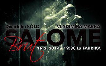 Představení - salome brut 19.2. La fabrika slévárna