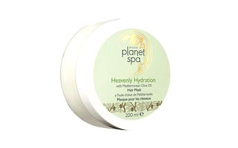 Avon Hydratační maska na vlasy s olivovým olejem Planet Spa (Heavenly Hydration with Mediterranean Olive Oil Hair Mask) 200 ml