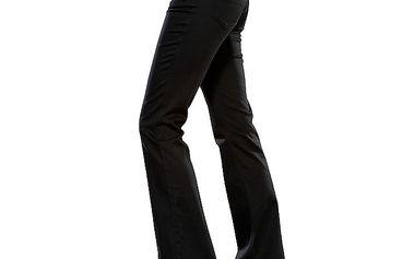 Dámské černé zvonové džíny Ruby London